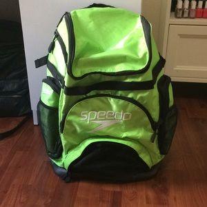 Lime Green Speedo Backpack